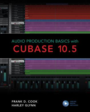 Cover image for the book Audio Production Basics with Cubase 10.5