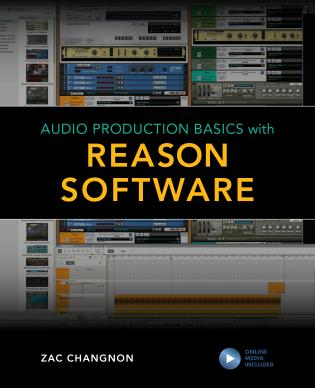 Cover image for the book Audio Production Basics with Reason Software