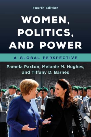 Cover image for the book Women, Politics, and Power: A Global Perspective, Fourth Edition
