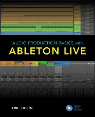 Cover image for the book Audio Production Basics with Ableton Live