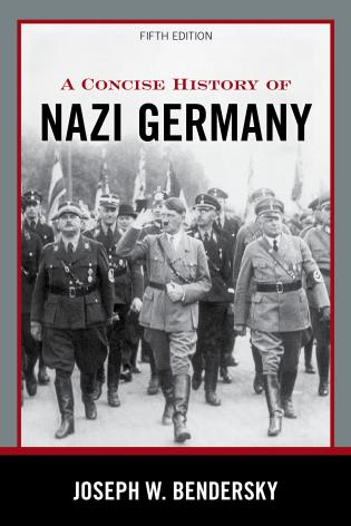 Cover image for the book A Concise History of Nazi Germany, Fifth Edition