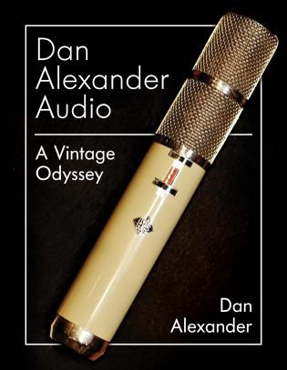 Cover image for the book Dan Alexander Audio: A Vintage Odyssey