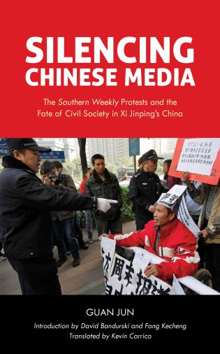 Cover image for the book Silencing Chinese Media: The
