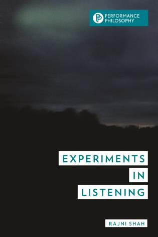 Cover image for the book Experiments in Listening