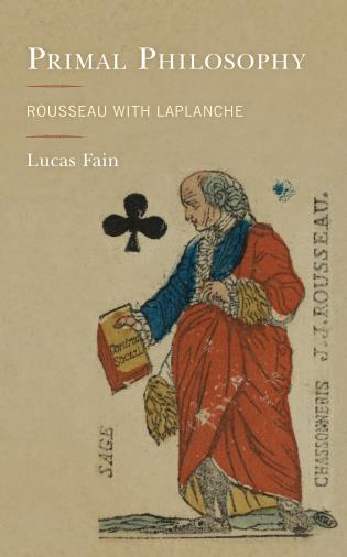 Cover image for the book Primal Philosophy: Rousseau with Laplanche