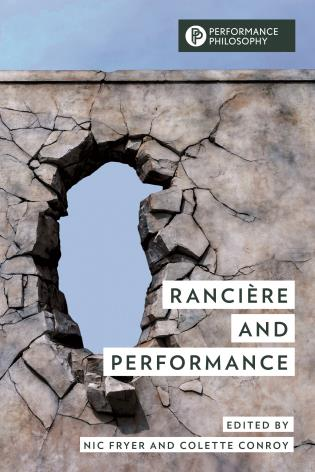 Cover image for the book Rancière and Performance
