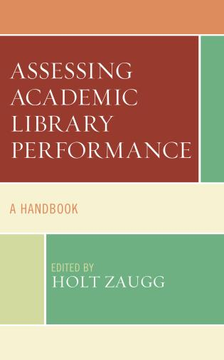 Cover image for the book Assessing Academic Library Performance: A Handbook