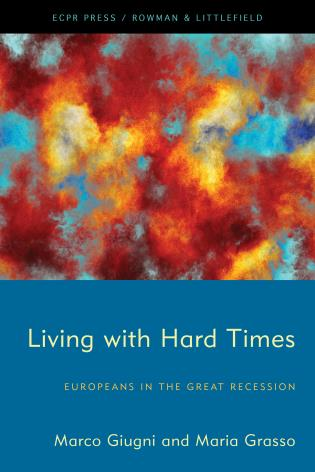 Cover image for the book Living with Hard Times: Europeans in the Great Recession