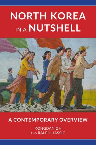 Cover image for the book North Korea in a Nutshell: A Contemporary Overview