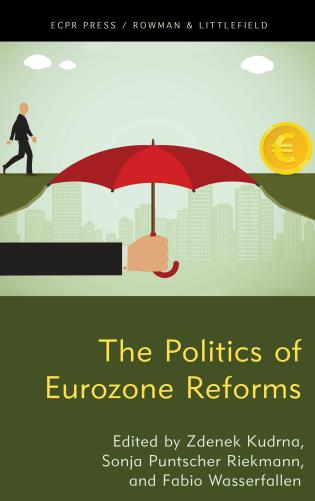 Cover image for the book The Politics of Eurozone Reforms