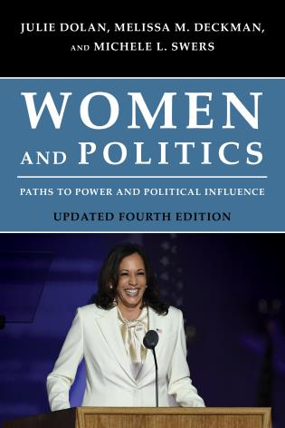 Cover image for the book Women and Politics: Paths to Power and Political Influence, Updated Fourth Edition