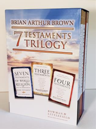 Cover image for the book The Seven Testaments Trilogy Box Set