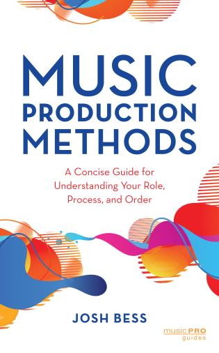 Cover image for the book Music Production Methods: A Concise Guide for Understanding Your Role, Process, and Order