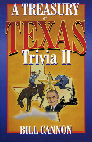 Cover image for the book Treasury of Texas Trivia II