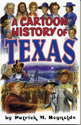 Cover image for the book Cartoon History of Texas