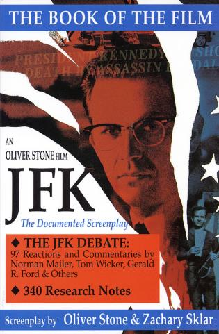 Cover image for the book JFK: The Book of the Film