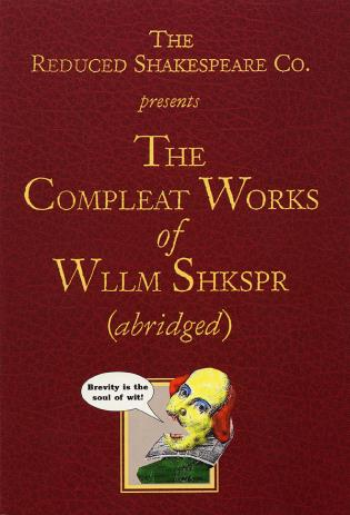 Cover image for the book The Compleat Works of Wllm Shkspr (Abridged)