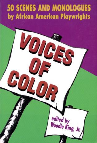 Cover image for the book Voices of Color: 50 Scenes and Monologues by African American Playwrights