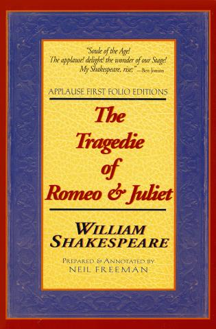 Cover image for the book The Tragedie of Romeo & Juliet