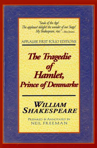 Cover image for the book The Tragedie of Hamlet, Prince of Denmarke