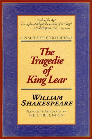 Cover image for the book Tragedie of King Lear