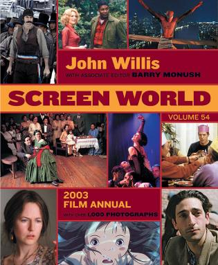 Cover image for the book Screen World: 2003, Volume 54