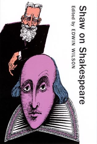 Cover image for the book Shaw on Shakespeare