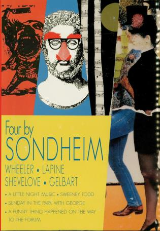 Cover image for the book Four by Sondheim