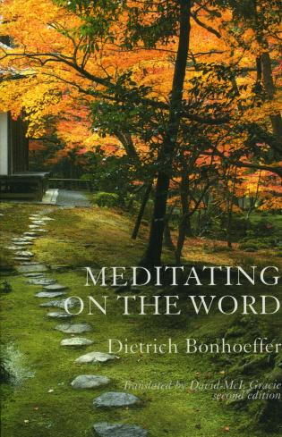 Cover image for the book Meditating on the Word