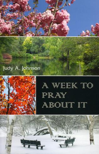 Cover image for the book A Week to Pray About it