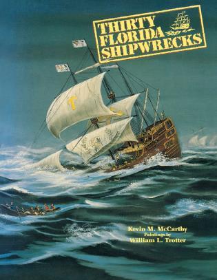 Cover image for the book Thirty Florida Shipwrecks