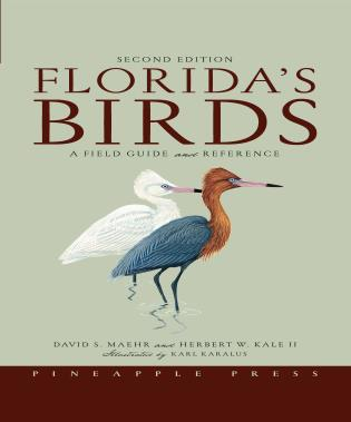 Cover image for the book Florida's Birds: A Field Guide and Reference, Second Edition