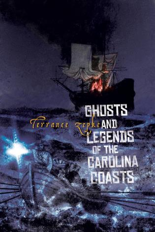 Cover image for the book Ghosts and Legends of the Carolina Coasts