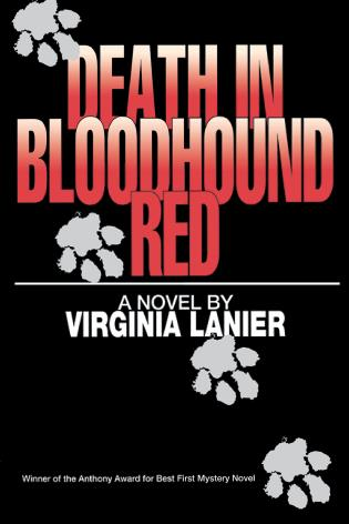 Cover image for the book Death in Bloodhound Red