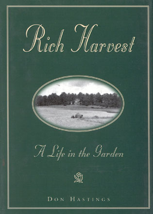 Cover image for the book Rich Harvest: A Life in the Garden