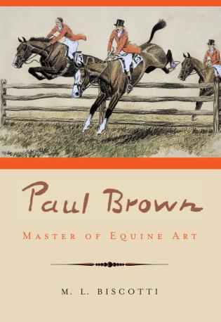 Cover image for the book Paul Brown: Master of Equine Art