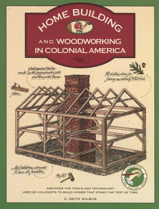 Cover image for the book Homebuilding and Woodworking, First Edition
