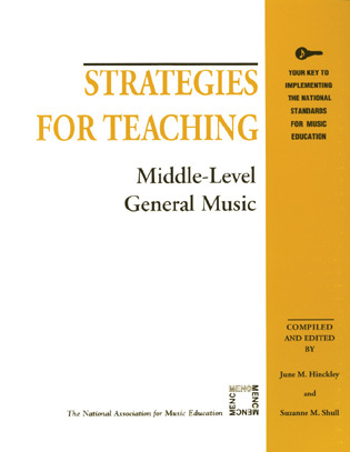 Cover image for the book Strategies for Teaching Middle-Level General Music
