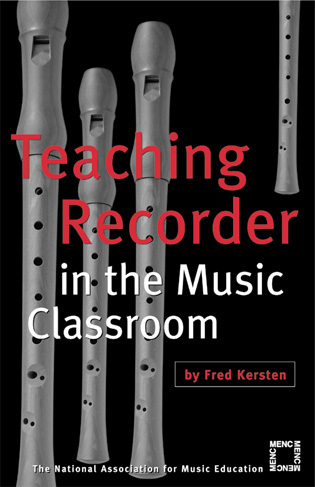 Cover image for the book Teaching Recorder in the Music Classroom