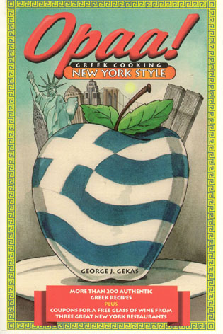 Cover image for the book Opaa! Greek Cooking New York Style