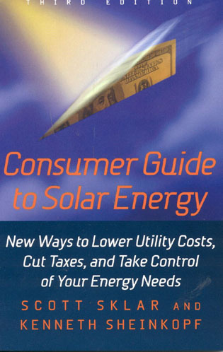 Cover image for the book Consumer Guide to Solar Energy, 3rd Edition