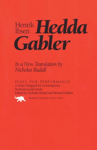 Cover image for the book Hedda Gabler