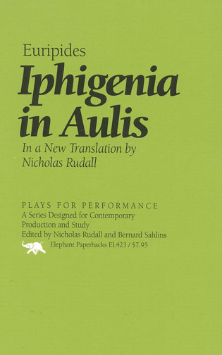Cover image for the book Iphigenia in Aulis