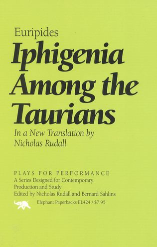 Cover image for the book Iphigenia Among the Taurians