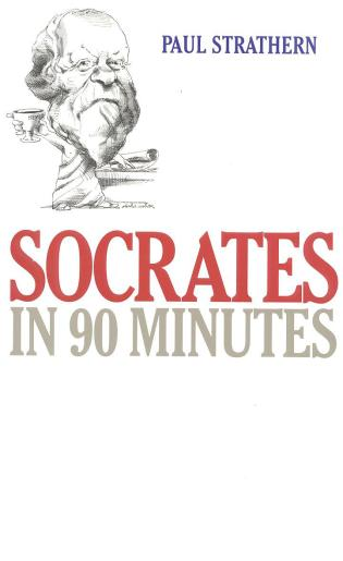 Cover image for the book Socrates in 90 Minutes