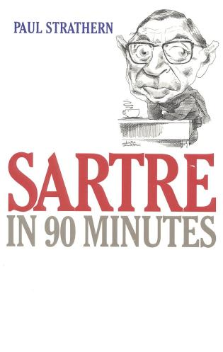 Cover image for the book Sartre in 90 Minutes