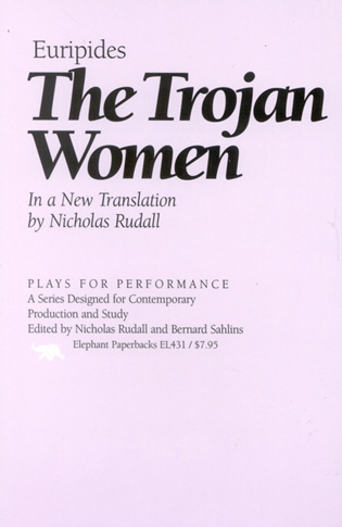 Cover image for the book The Trojan Women