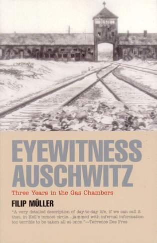 Cover image for the book Eyewitness Auschwitz: Three Years in the Gas Chambers