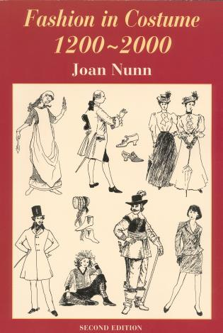 Cover image for the book Fashion in Costume 1200-2000, Revised