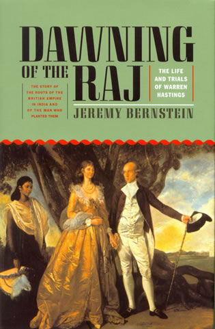 Cover image for the book Dawning of the Raj: The Life and Trials of Warren Hastings